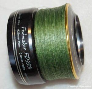 плетенный шнур для спиннинга
