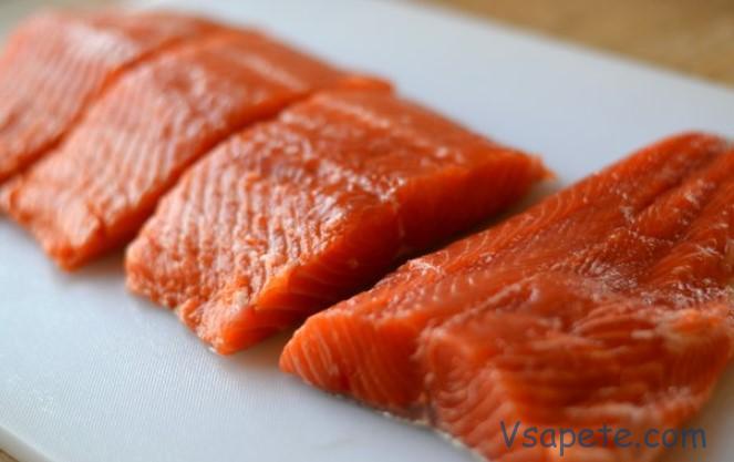 Филе для засолки красной рыбы