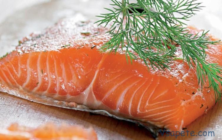 Красная рыба посол в домашних условиях 655