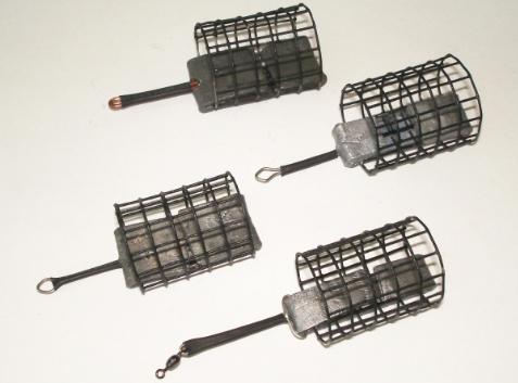 Фидерные кормушки из металлической сетки