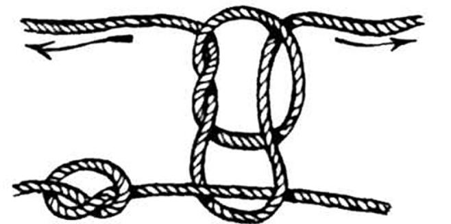 Бегущий узел для поводков