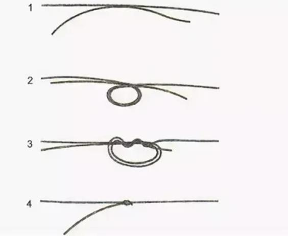 Хирургический узел для поводков