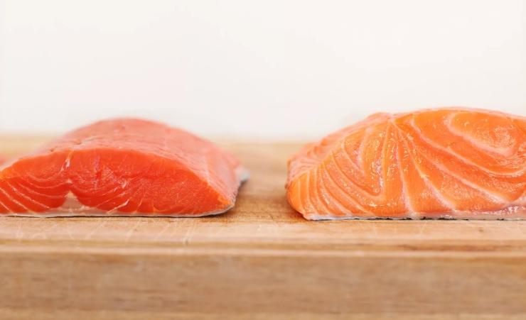 Разница дикой и искусственного лосося